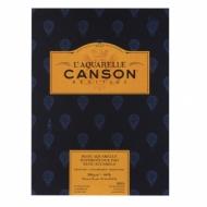 Альбом для акварели Canson Heritage 300г/кв.м (хлопок) 23*31см 12листов Фин склейка по короткой стороне