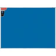 """Доска фетровая Berlingo """"Premium"""", 90*120см, синяя, алюминиевая рамка"""