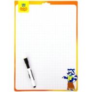 Доска для рисования с маркером двухсторонняя Мульти-Пульти, 340*490мм