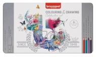 Набор карандашей Bruynzeel Celebration Set 70 предметов в металлической упаковке