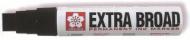 Маркер Sakura Extra Broad черный стержень 10*17мм
