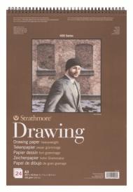 Альбом для графики Strathmore 400 Series Drawing 163г/кв.м, 29,7х42см, 24л