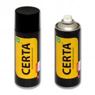 Термостойкая эмаль CERTA для металла 700°C, цвет: графит, аэрозоль, 520 мл