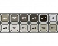 Набор маркеров Copic WG (Warm Gray) Classic  в пластиковом контейнере 12 цветов