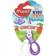 Ножницы детские для творчества Maped Kidi cut с безопасными лезвиями, 12 см