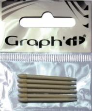 Набор наконечников для маркера Graph-It, 6 шт тонкие (пуля)