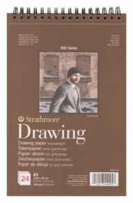 Альбом для графики Strathmore 400 Series Drawing 163г/кв.м, 14,8х21см, 24л
