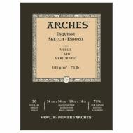 Блок для графики Arches Esquisse 105г/кв.м 26*36см 20л Верже склейка