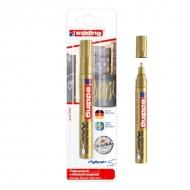Глянцевый лаковый маркер золотой edding 750