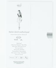 Альбом для маркеров SM-LT Art Authentic for Markers 100г/м2 A4 50 листов в папке склейка по длинной стороне