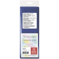Бумага тишью Werola, 50*75см, 5 листов, 17г/м2, синяя, однотонная, пакет, европодвес