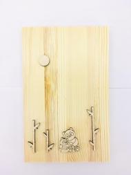 Заготовка Timberlicious для декорирования  панно 4 25х16см