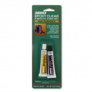 Клей эпоксидный высокопрочный ABRO EC-510 для фарфора, стекла и пластика, 14,2 гр