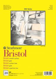 Альбом для графики Strathmore 300 Series Bristol 270г/кв.м, 21х29,7см, 20л