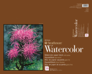 Блокнот для акварели Strathmore 400 Series Watercolor 300г, 41х50,8см, 15л