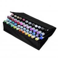 Набор маркеров для скетчинга Artisticks Style CASE в Travel-пенале, 48 цветов