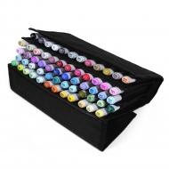 Набор маркеров для скетчинга Artisticks Style CASE в Travel-пенале, 60 цветов