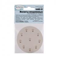 Магниты неодимовые Mr.Painter, диски на металлической пластине, 7х2мм, 10 шт.