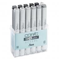 Набор маркеров COPIC Classic тонер серый TG, 12 цветов
