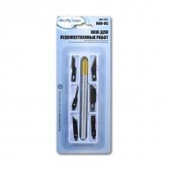 Макетный нож для художественных работ Mr. Painter с 6 различными сменными лезвиями