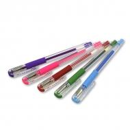 Цветные гелевые ручки PENTEL Hybrid Gel Grip 0.6 мм. с металлическим наконечником