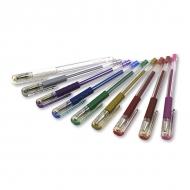 Цветные гелевые ручки PENTEL Hybrid Gel Grip 0,8 мм