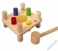 Деревянная забивалка Смайл Plan Toys