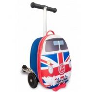 Самокат-чемодан Автобус путешественник, мини ZINC