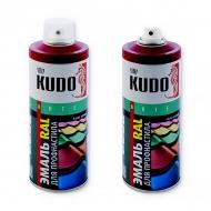Эмаль для профнастила и металлочерепицы Kudo, цвета RAL, 520 мл