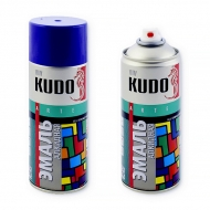 Аэрозольная алкидная краска-эмаль Kudo в баллончике, 520 мл