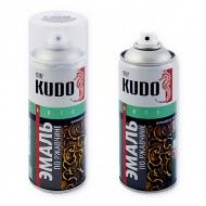 Краска по ржавчине Kudo с молотковым эффектом, аэрозоль, 520 мл