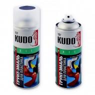 Акриловая грунт-эмаль Kudo для пластика, полуматовая, цвета RAL, аэрозоль 520 мл