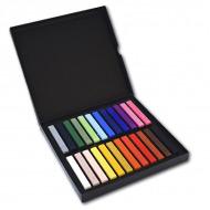 Набор сухой пастели Polycrayons Pastel Soft LYRA для художественных работ и графики, 24 цвета
