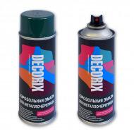 Аэрозольная эмаль для металлочерепицы DECORIX