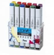 """Набор маркеров Copic Classic Bright Colors """"Яркие цвета"""", 12 цветов"""
