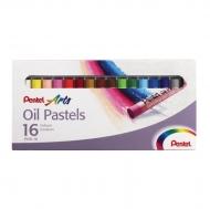 """Пастель масляная """"Oil Pastels"""" Pentel, 16 цветов"""