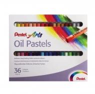 """Пастель масляная """"Oil Pastels"""" Pentel, 36 цветов"""