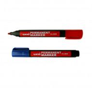Маркеры перманентные Uni для любых поверхностей, 1,0 - 4,5 мм (скошенное перо) 380B