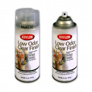 Аэрозольный защитный лак без запаха KRYLON Low Odor Clear Finish