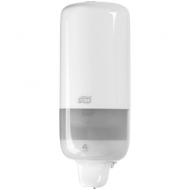 Диспенсер для жидкого мыла Tork Elevation(S1), пластик, механический, белый, 1л