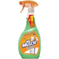 Средство для мытья стекол Mr.Muscle с нашатырным спиртом Утренняя роса, 500мл, с курком