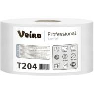 Бумага туалетная Veiro Professional Comfort(Q2, Т2) 2-слойная, 170м/рул, тиснение, белая