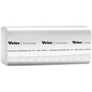 Полотенца бумажные лист. Veiro Professional Comfort(V-сл), 2-слойные, 200л/пач, 21*21, белые