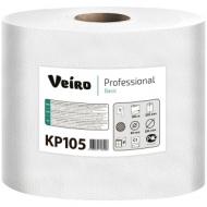Полотенца бумажные в рулонах Veiro Professional Basic(С1) 1 слойн., 300м/рул, ЦВ, цвет натуральный