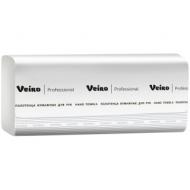 Полотенца бумажные лист. Veiro Professional F2Comfort(Z-сл), 2-слойные, 200л/пач, 24*21, белые