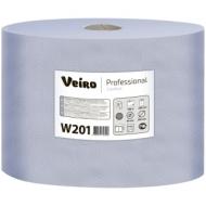 Протирочная бумага в рулоне Veiro Professional Comfort, 2-слойная, 350м/рул, синий
