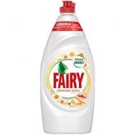 Средство для мытья посуды Fairy Нежные руки. Ромашка и витамин Е, 900мл