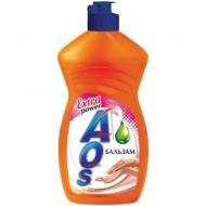 Средство для мытья посуды AOS Бальзам, 450мл
