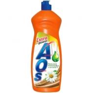Средство для мытья посуды AOS Бальзам Ромашка и Витамин Е, 900мл