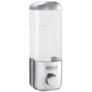 Диспенсер для жидкого мыла OfficeClean Professional, наливной, ABS-пластик, хром, 0,5л